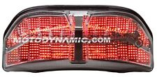 2011-2013 Yamaha FZ8 FZ8N SEQUENTIAL Integrated Signal LED Tail Light CLEAR LENS