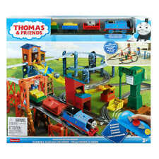 *NEW*Thomas TrackMaster Fisher Price Mad Dash on Sodor MD Set & Expansion Pack