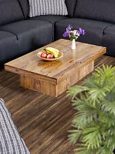 Couchtisch 118x70 cm Wohnzimmertisch Tisch Beistelltisch Holztisch Palisander