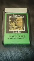 8 Track Cassette Cartridge Eight sunny alade and his African beats london