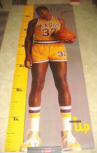 Magic Johnson Life SIze Measure Up Poster 35x76