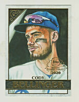 2020 Topps Gallery PREVIEW National Baseball Card Day #GP-10 CODY BELLINGER QTY