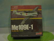 "LUFTWAFFE ME109E-1 ""JG26 1940"" 1:72ND SCALE DIECAST METAL MODEL"
