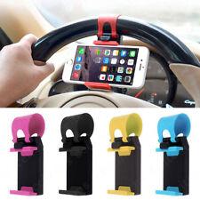 Car Steering Clip For All Mobile Models Phone GPS Wheel Mount Holder Stand