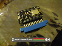 COMMODORE 64 Wifi Modem! Connect your real C64 to BBS sites via Internet!