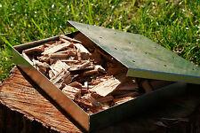 Generador de humo Ajustable Para Barbacoa & Fumador Astillas de Madera Bandeja de alimentos Caja + Chips De Roble