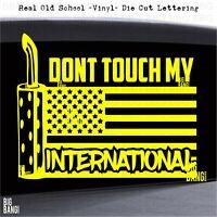 Vinyl Decal Sticker Multiple Patterns /& Sizes I Love My Trucker ebn1196