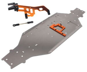 HPI Trophy Truggy Flux * 6061 CHASSIS & ANTI-BENDING RODS * 101797 101774 101104