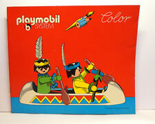Playmobil System Color Malbuch / coloring book  Wild West ( rot )