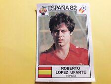 Album Panini ESPANA 82 Figurina 309 LOPEZ UFARTE SPAGNA ESPANA Soccer rec