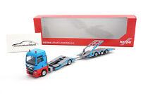 "#310406 - Herpa MAN TGX XXL LKW-Transporter-Hängerzug ""Mosolf"" - 1:87"