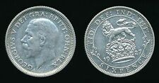 1927 George V - Silver SIXPENCE..........Fast Post