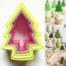 5Pcs Mold Biscuit Fondant Cake Cutter Christmas Tree Cookie 2017 Hots