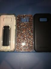Lot Of 3pc Samsung Galaxy S8 plus Otterbox Case,Scooch Case , Casemate Gold Case