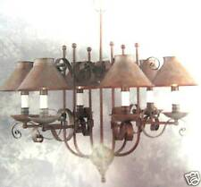 NIB MURRAY FEISS F1582/6WP CHANDELIER REVERE COLLECTION WEATHERED PATINA