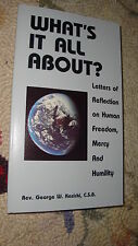 What's It All About by Fr. George W. Kosicki Catholic Book