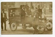 "Corvallis OR ""The Gazette Times"" Truck RPPC Real Photo Postcard"