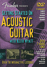 Learn To Play Acoustic Guitar FENDER Tutor Lesson DVD