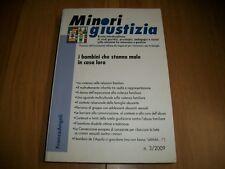 MINORI GIUSTIZIA-N.3-2009-FRANCOANGELI-RIVISTA INTERDISCIPLINARE STUDI GIURIDICI