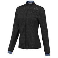 Adidas Women Climaproof Jacket Supernova Reflective Running Sport Black Large