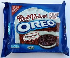 NEW Nabisco Oreo Red Velvet Cream Cheese Creme Cookies FREE WORLDWIDE SHIPPING