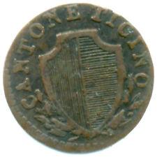 Svizzera, cantone Ticino, 6 denari 1835