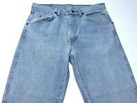 Men's VTG Wrangler Blue Jeans Light Wash Denim Size 33x30 Made in USA