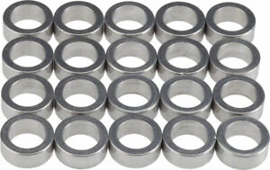 Wheels Manufacturing 5.0mm Aluminum Chainring Spacer Bag of 20 Adjusts Chainline