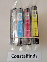 Epson 200 Ink Cartridges CMYK Set of 4 OEM NEW Genuine Sealed T200 Inkjet XP 400