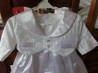Robe de fêtes cérémonie blanche 6 mois NEUVE