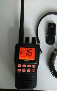 Uniden MHS75 Submersible Waterproof Handheld Two-Way VHF NOAA Radio