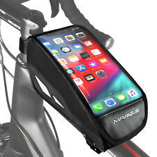 New Marque Top Tube Bag With Clear Cell Phone Pouch Holder for Smart Phones