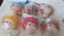 *Choice* Vtg Darice/Other 4.5 inch Mitzy Yarn Doll Head/Hands Brand New 6 Avail