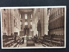 Vintage RPPC: Cambs: #T28: Peterborough Cathedral, Choir: Posted 1949