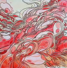 Abstracto Contemporáneo Moderno Original Pintura Surrealista Mar