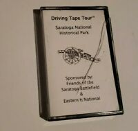 Driving Tape Tour Saratoga National Historical Park Cassette Tape Vintage 1996
