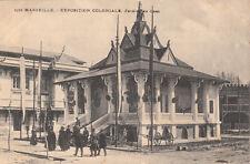 MARSEILLE expo coloniale 1906 2522 pavillon du laos