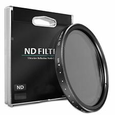 58mm ND Variable Neutral Density Filter for Canon EF 65mm f/2.8 MP-E Macro Lens
