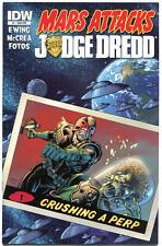 MARS ATTACKS JUDGE DREDD #1 2 3 4, NM, 2013, IDW, Aliens, more MA in store,1-4,S