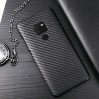 For Huawei Mate 20 Pro/ 20 Lite/ 20 10 9 Pro Lite Carbon Fiber Hybrid Cover Case