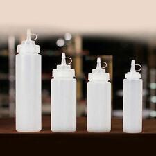8-24 oz Ketchup Sauce Dispenser Bottle Olive Oil Dispensing Bottle Squeeze Jar