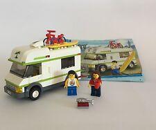 Lego city camping car set 7639 complet notice et mini fig