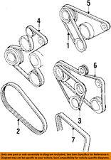 VW VOLKSWAGEN OEM 93-99 Jetta 2.0L-L4 Belt-Power Steering Pump Belt 037145271F