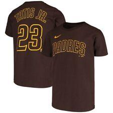 San Diego Padres MLB Baseball Fernando Tatis Jr Name & Number Shirt Funny gift