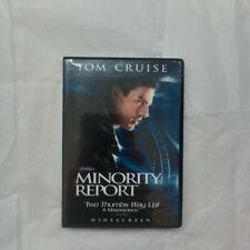 Minority Report Dvd Very Good