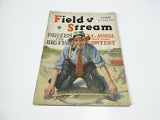 July 1934 Field and Stream Prizes for Big fish 24th Annual Price Fishing Contest