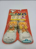 Vtg 1989 Lace Faces Peanuts Snoopy Flying Ace Woodstock Shoe Charlie Brown Nos