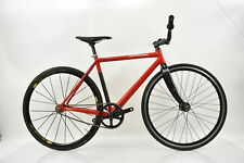 2008 Cannondale Capo Fixed Gear/Single Speed Alloy Commuter Bike 50cm Race Red