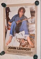 The JOHN LENNON COLLECTION Vintage Promo Poster 26x38 1982 Original Promotional