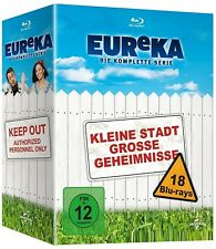 EUREKA 1-5 2006-2012 Small town with big secrets COMPLETE Seasons Series BLU-RAY